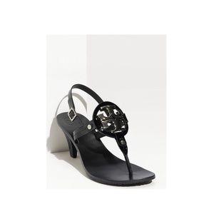 Tory Burch Classic Kitten Heel Sandal Size 7 1/2